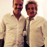 Rod Stewart und Marc Getmmann in Nizza